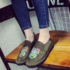 Chryse - 刺绣轻便鞋