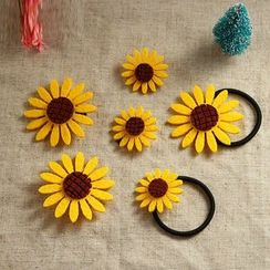 Persinette - Sunflower Hair Tie / Hair Clip / Brooch