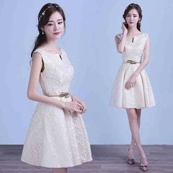 Gracia - Lace Bridesmaid Dress
