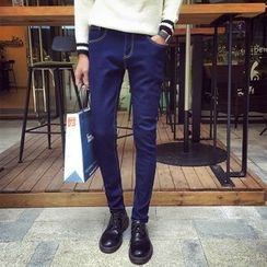 Mitouomo - Fleece Lined Skinny Jeans