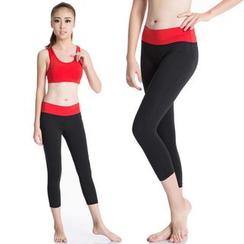 FoxFlair - Cropped Yoga Pants