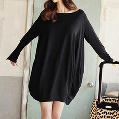 Jolly Club - Long-Sleeve T-Shirt Dress