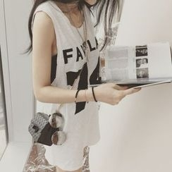 MayFair - Printed Long Tank Top