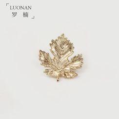 Luonan - 楓葉造型領針