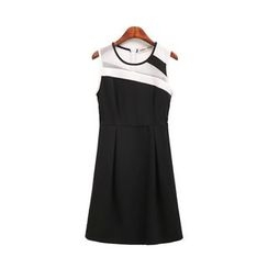 GRACI - Colour Block Sleeveless Dress