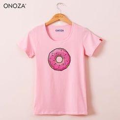 Onoza - 短袖甜甜圈T恤