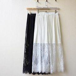Tulander - Lace Maxi Skirt