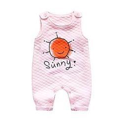 MOM Kiss - 婴儿套装: 绗缝上衣 + 裤子