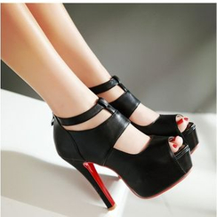 Freesia - 高跟露趾高跟鞋