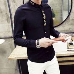 Hawoo - Long-Sleeve Printed Shirt