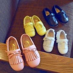 BOOM Kids - 小童流蘇平跟鞋