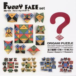 cochae - cochae : Funny Face Origami Paper Set (10 Sheets)