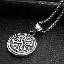 Andante - Titanium Steel Pendant Necklace