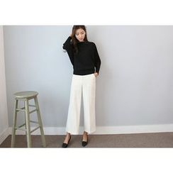 Hello sweety - Flat-Front Dress Pants