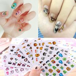Coolgirl - Printed Nail Sticker