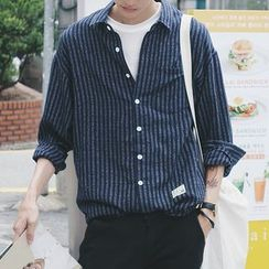 Arthur Look - Striped Long-Sleeve Shirt