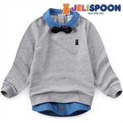 JELISPOON - Boys Layered Sweatshirt