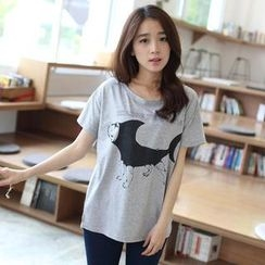 Mini Jule - Short-Sleeve Printed T-Shirt