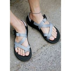 JOGUNSHOP - Buckled Strap Sandals