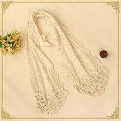 布衣天使 - 蕾絲圍巾
