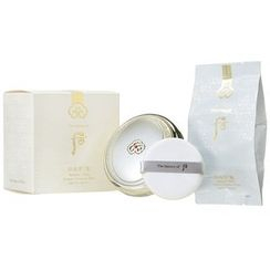 The History of Whoo - Radiant White Essence Moisture Pact SPF50+ PA+++ with Refill (3 Colors)