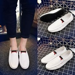 MR.GONG - Faux Leather Loafers