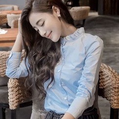 Romantica - Long-Sleeve Ruffled Shirt