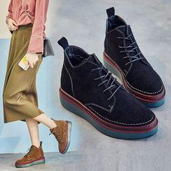 Sunsteps - 厚底系带短靴