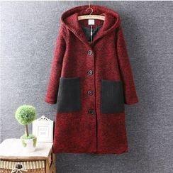 Nycto - Hooded Long Coat