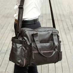Yiku - Faux Leather Carryall