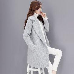 Romantica - Notched-Lapel Buttoned Coat