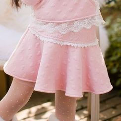 Candy Rain - Kids A-line Skirt