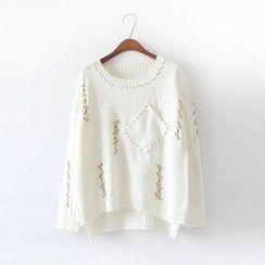 Jolly Club - Stitched Sweater