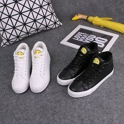 Klesky - High Top Lace Up Sneakers