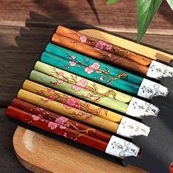 三木青禾 - 碎花筷子