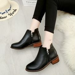Sunsteps - Block Heel Ankle Boots