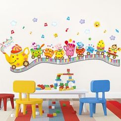 LESIGN - Cups Train Wall Sticker