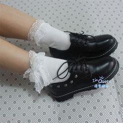 Sock Kingdom - Lace Trim Socks