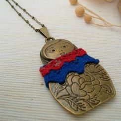 MyLittleThing - Russian Doll Necklace
