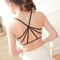 camikiss - Strappy Bra Top (Various Designs)
