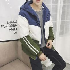 49th Day - Color-Block Padded Jacket
