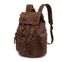 AUGUR - Buckled Canvas Backpack