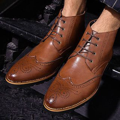 Shoelock - Brogue Short Boots