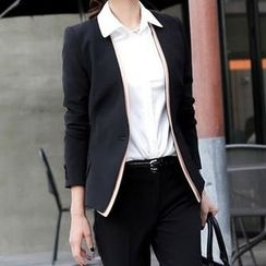 In the Mood - Set: Slim Fit Blazer + Dress Pants