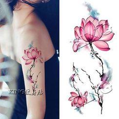 Pivoine - Flower Waterproof Temporary Tattoo