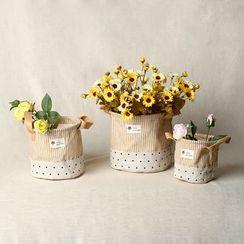 Gukan - Linen Cotton Storage Basket