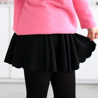 59 Seconds - Scallop Hem Skirt