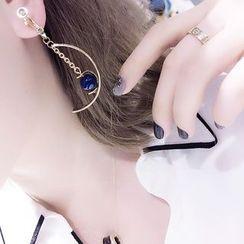 Jael - Agate Drop Earrings / Ear Cuffs
