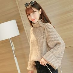 Colorful Shop - Turtleneck Sweater