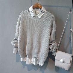芷蓯夕 - 純色毛衣